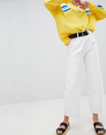 Pull&bear Mom Jean In White afbeelding