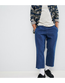 Reclaimed Vintage Inspired Denim Relaxed Trouser afbeelding
