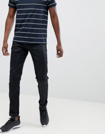 Replay Anbass Slim Stretch Jeans In Coated Black afbeelding