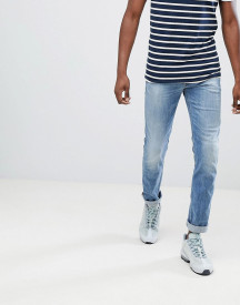 Replay Anbass Slim Stretch Jeans In Light Wash afbeelding