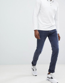 Replay Anbass Slim Stretch Jeans In Navy afbeelding