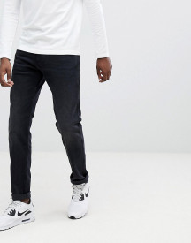 Replay Anbass Slim Stretch Jeans In Washed Black afbeelding