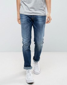 Replay Anbass Stretch Slim Jeans Dark Wash afbeelding