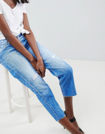 Replay Cropped Rigid Straight Jean With Raw afbeelding