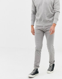 Replay Washed Grey Slim Jeans afbeelding