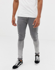 Ringspun Skinny Fit Ombre Jeans afbeelding