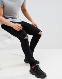 Ringspun Super Skinny Ripped Jeans afbeelding