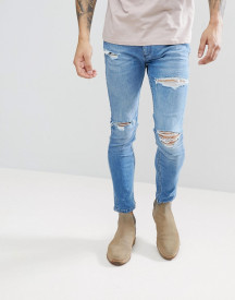 Rollas Ripped Tapered Jeans afbeelding
