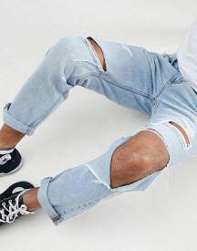 Rollas Tommy Ripped Tapered Jeans afbeelding