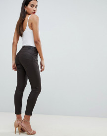 Salsa Secret Waist Sculpting Capri Jeans With Coating afbeelding