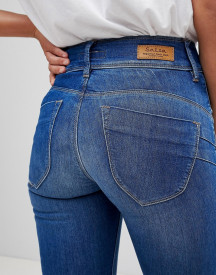 Salsa Secret Waist Sculpting Skinny Jean afbeelding