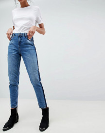 Selected Femme Boyfriend Jeans Side Detail afbeelding