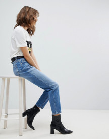 Selected Femme High Rise Mom Jeans afbeelding
