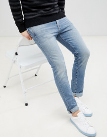 Selected Homme Slim Fit Light Blue Jeans afbeelding