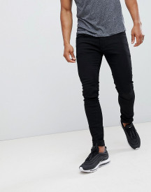 Soul Star Skinny Fit Jeans In Black afbeelding