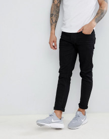 Threadbare Skinny Fit Jeans In Black afbeelding