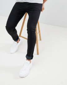 Threadbare Super Skinny Fit Jeans In Black afbeelding