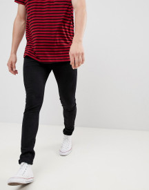 Threadbare Super Skinny Jeans In Black afbeelding
