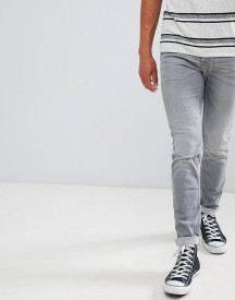Tom Tailor Skinny Jeans In Grey Wash afbeelding