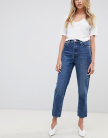 Tomorrow Highwaisted Straight Leg Jean With Organic Cotton afbeelding