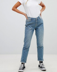 Urban Bliss Mom Jeans In Light Wash afbeelding