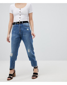 Vero Moda Aware Distressed Denim Jeans afbeelding