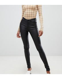 Vero Moda Tall Coated Skinny Jeans afbeelding