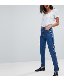 Vero Moda Tall Mom Jean With Side Tape afbeelding