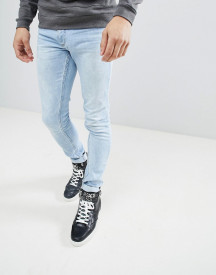 Versace Jeans Super Skinny In Lightwash Blue afbeelding