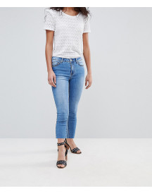 Vila Slim Jean With Frayed Hem afbeelding