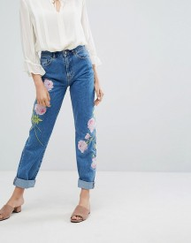 Warehouse Embroidered Jeans afbeelding
