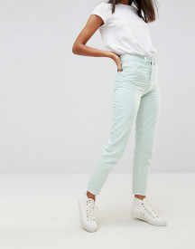Waven Elsa Pale Mint Mom Jeans afbeelding