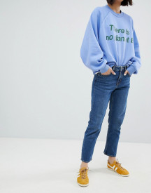 Weekday Ami Mid Rise Crop Straight Jean afbeelding