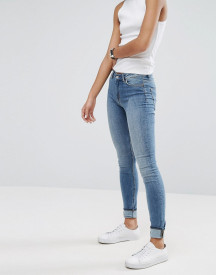 Weekday Body High Waist Super Stretch Skinny Jeans afbeelding