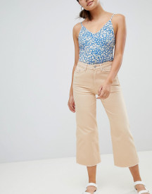 Weekday Cropped Leg Jean With Raw Hem afbeelding