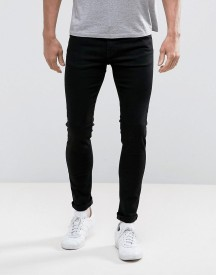 Weekday Form Super Skinny Jeans Black Wash afbeelding
