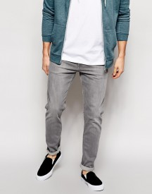 Weekday Jeans Friday Skinny Fit Grey afbeelding