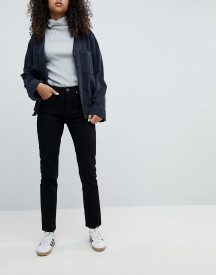 Weekday Seattle Mom Jeans In Organic Cotton afbeelding