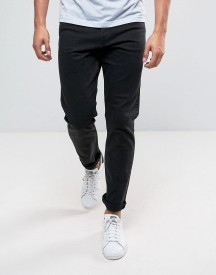 Weekday Sunday Tapered Fit Jeans Tuned Black afbeelding