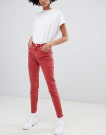Weekday Way High Waist Skinny Jeans In Organic Cotton afbeelding