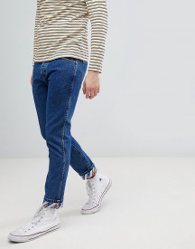 Wrangler Tapered Jeans With Turn Up Details afbeelding