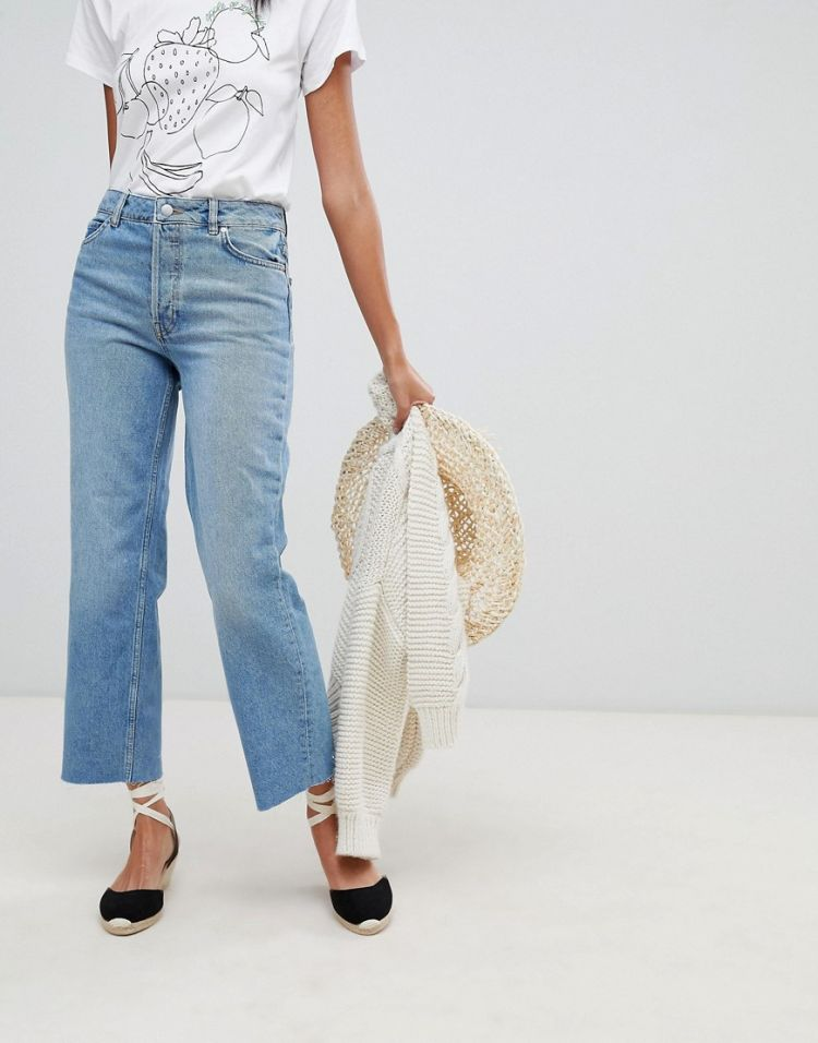 Image Warehouse Authentic Cut Straight Leg Jeans