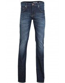 Sale Mustang Chicago Tapered Jeans Blauw afbeelding