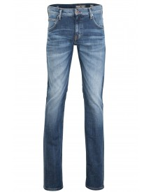 Sale Mustang Jeans Chicago Tapered Blauw afbeelding
