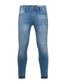 Heren Skinny Tapered Comfort Stretch Jeans afbeelding