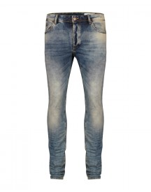 Heren Skinny Tapered Jog Denim afbeelding