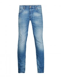 Heren Slim Tapered Comfort Stretch Jeans afbeelding
