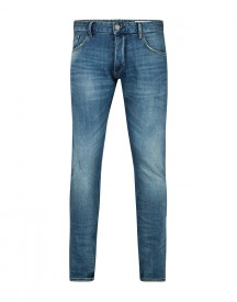 Heren Slim Tapered Comfort Stretch Selvedge Jeans afbeelding