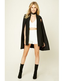 Contemporary Padded Cape Blazer afbeelding