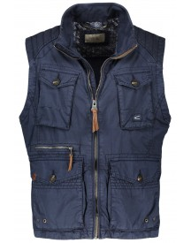 Sale Camel Active Bodywarmer Navy Garment Dyed afbeelding
